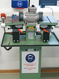 Double Station Tool Grinding and Lapping Machine REMA ST 2/125