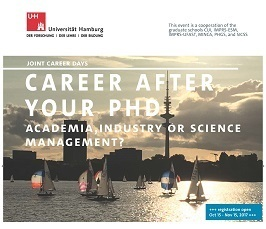 Career after your PhD - Academia, industry or science management?